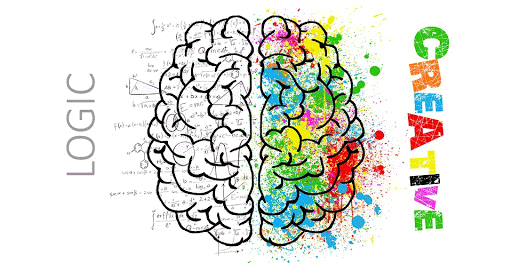 Logic and Creative sides of the brain