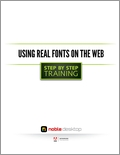Using Real Fonts on the Web