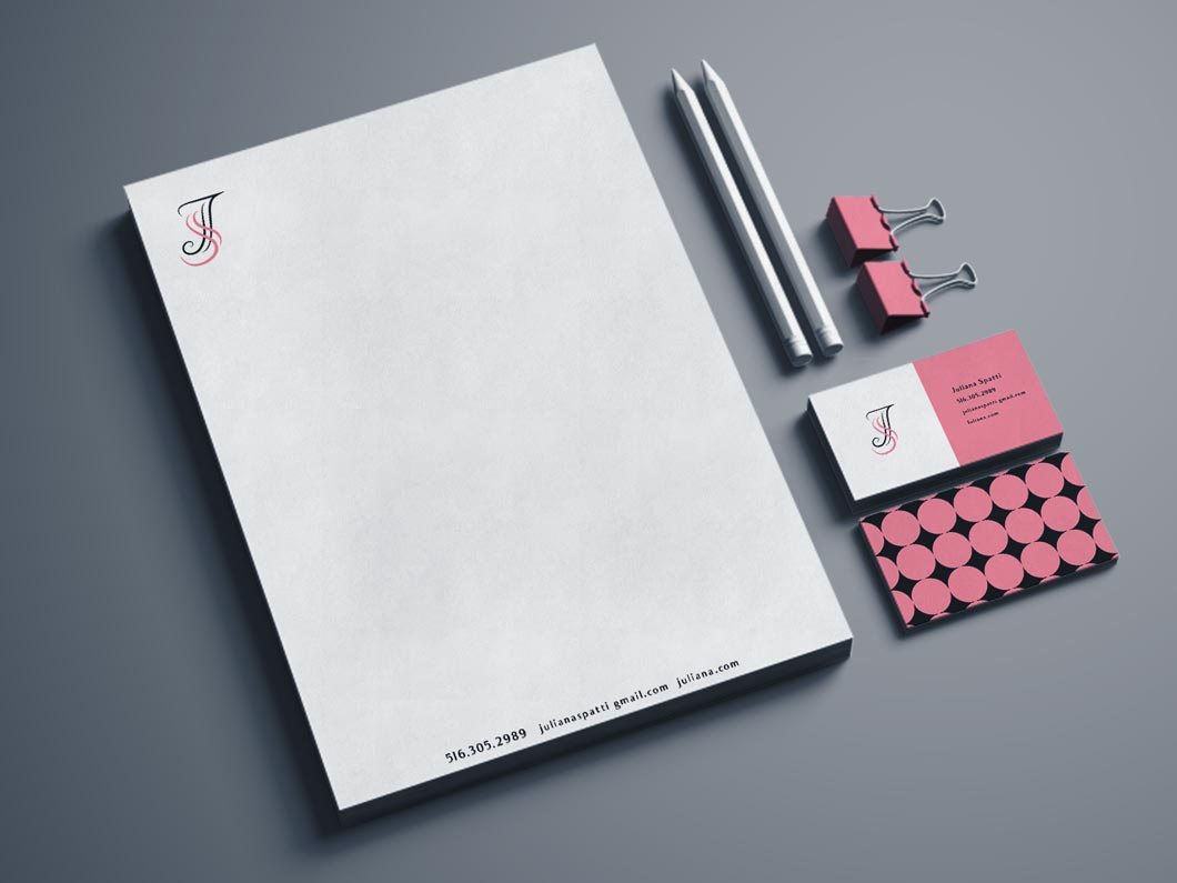 Brand identity by graphic design student