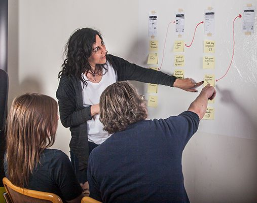 UX professional teaching design skills