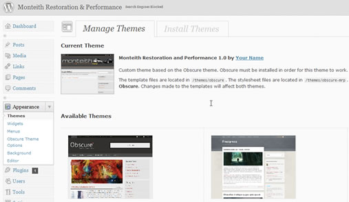 WordPress Classes NYC: Build Custom Themes