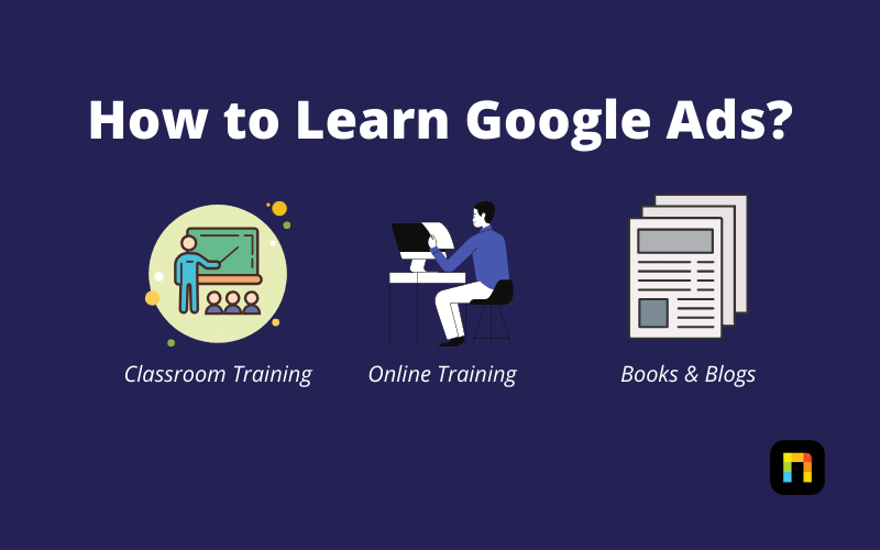 How to Learn Google Ads Graphic