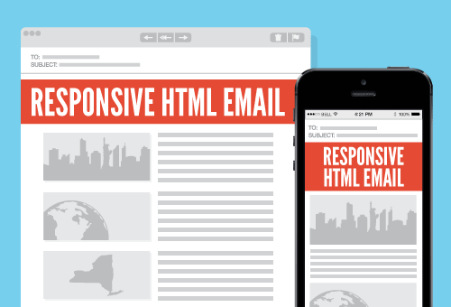 Responsive HTML email for all screen sizes