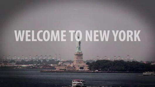 Screenshot of New York City video
